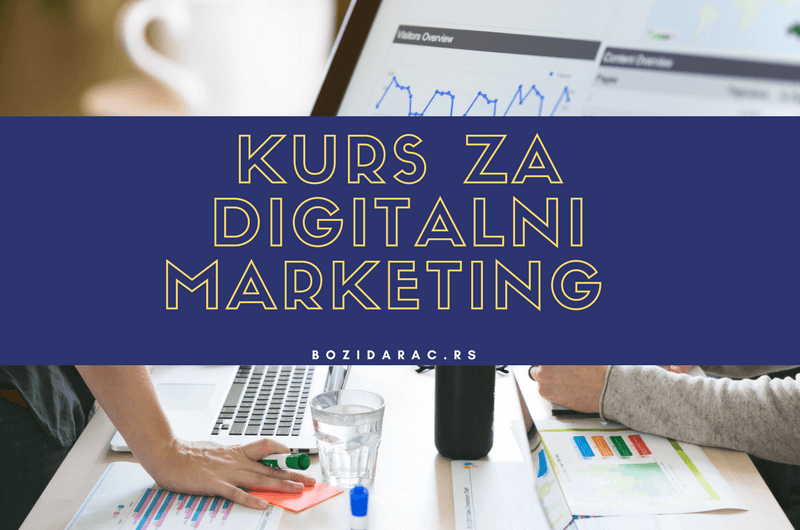 Kurs za digitalni marketing